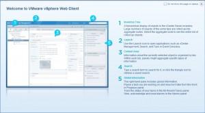 vSphere Web Client Interface 01