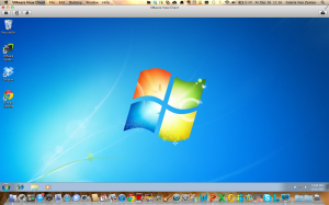 View your desktop in the VMware View PCoIP for OSX client