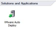 Auto deploy GUI