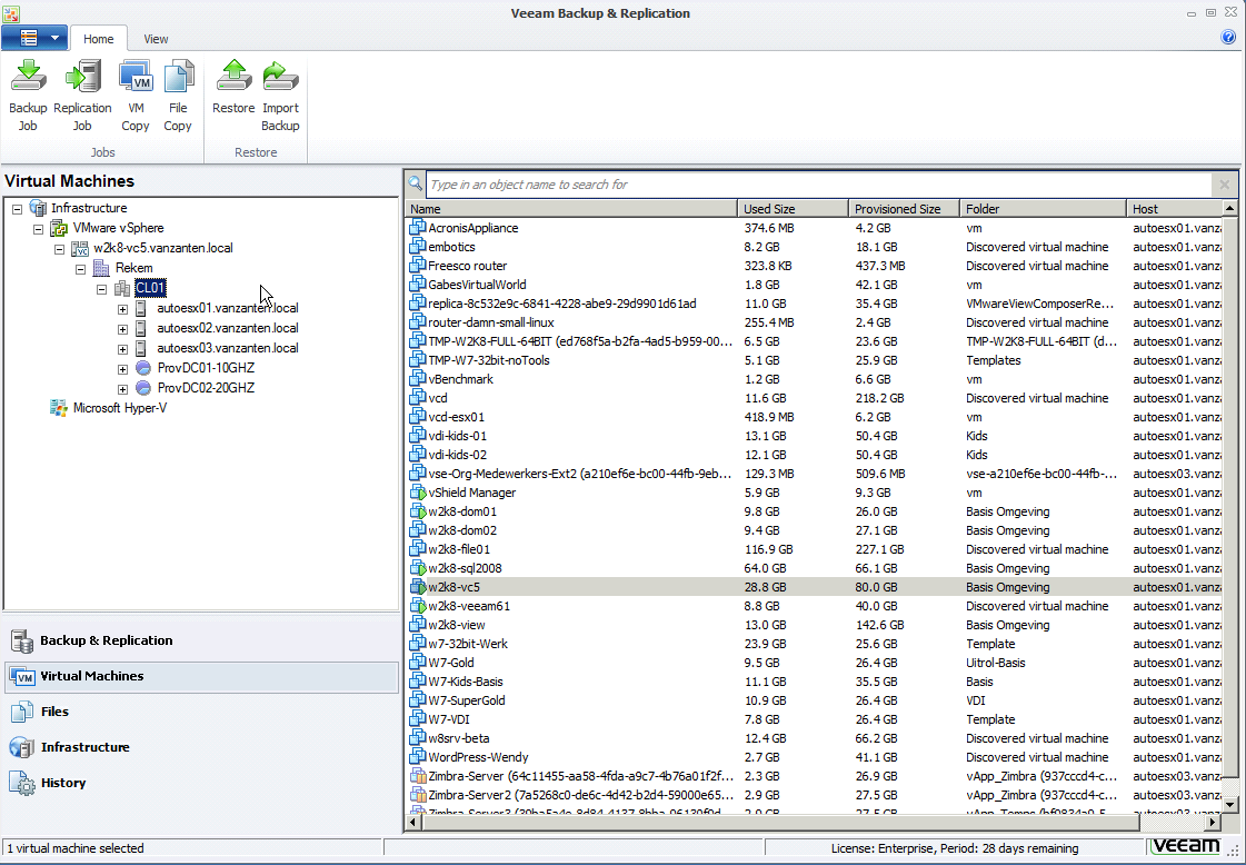 Veeam Backup & Replication 6 1 released - Gabes Virtual World