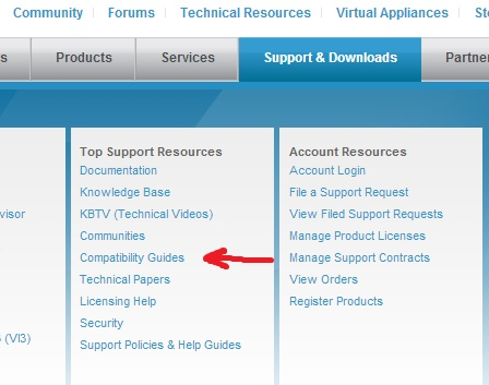 Don't be a dumbass, check the VMware Compatibility Guides